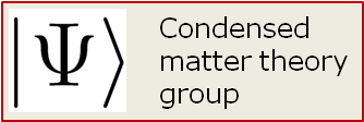 Condensed Matter Theory Group