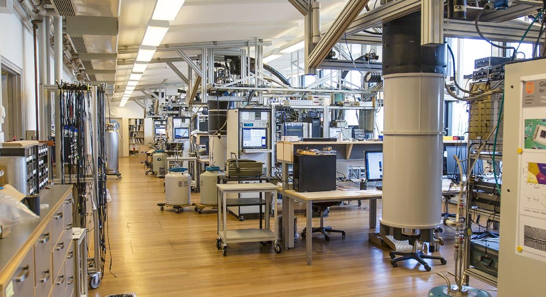 Center for Quantum Devices at the Niels Bohr Instute, development of the quantum computer