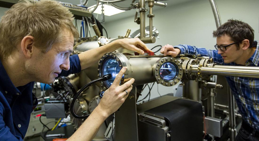I Center for Quantum Devices på Niels Bohr Instutet ved Københavns Universitet arbejder de med udviklingen af fremtidens Kvantecomputer